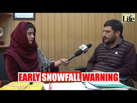 Early Snowfall Warning