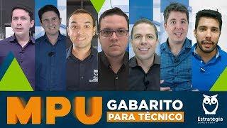 Gabarito MPU 2018: Correção da Prova para Técnico