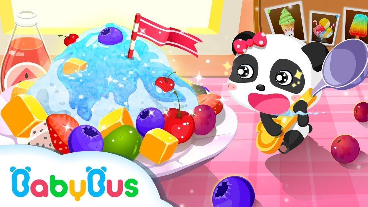 Baby Panda Making Juice, Ice Cream & Smoothies   Join The Fun With Little KiKi & MiuMiu Game