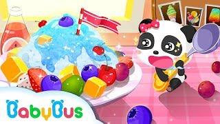 Ice Cream Smoothie - Baby Panda Making Juice, Ice Cream & Smoothies   Join The Fun With Little KiKi & MiuMiu Game