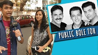 SALMAN KHAN | AKSHAY KUMAR | KARAN JOHAR | Together For A Movie | PUBLIC BOLE TOH