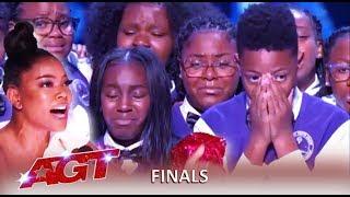 Detroit Youth Choir: WOW Final Perfomane Does City Of Detroit Proud! | America's Got Talent 2019
