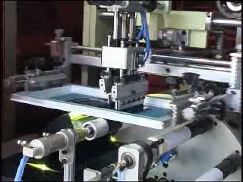 Automatic Screen Printing Machine for Plastic Tube