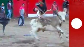 Peru: Mehrere Menschen bei Stierkampf aufgespießt