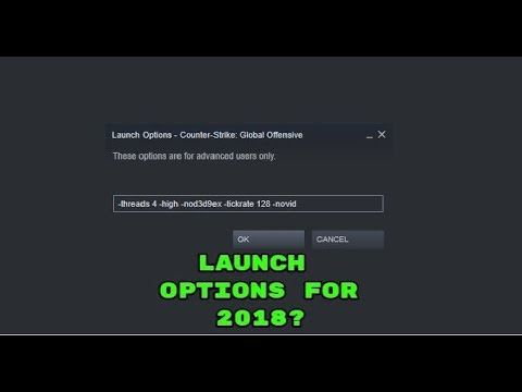The FPS Increase -high (and other launch options) have in