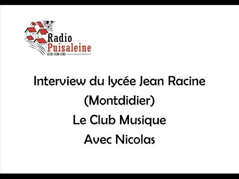 Interview Lycée Jean Racine (Vendredi 27 Mai 2016)