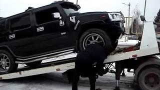 Эвакуация Хаммера в Нижнем Новгороде -