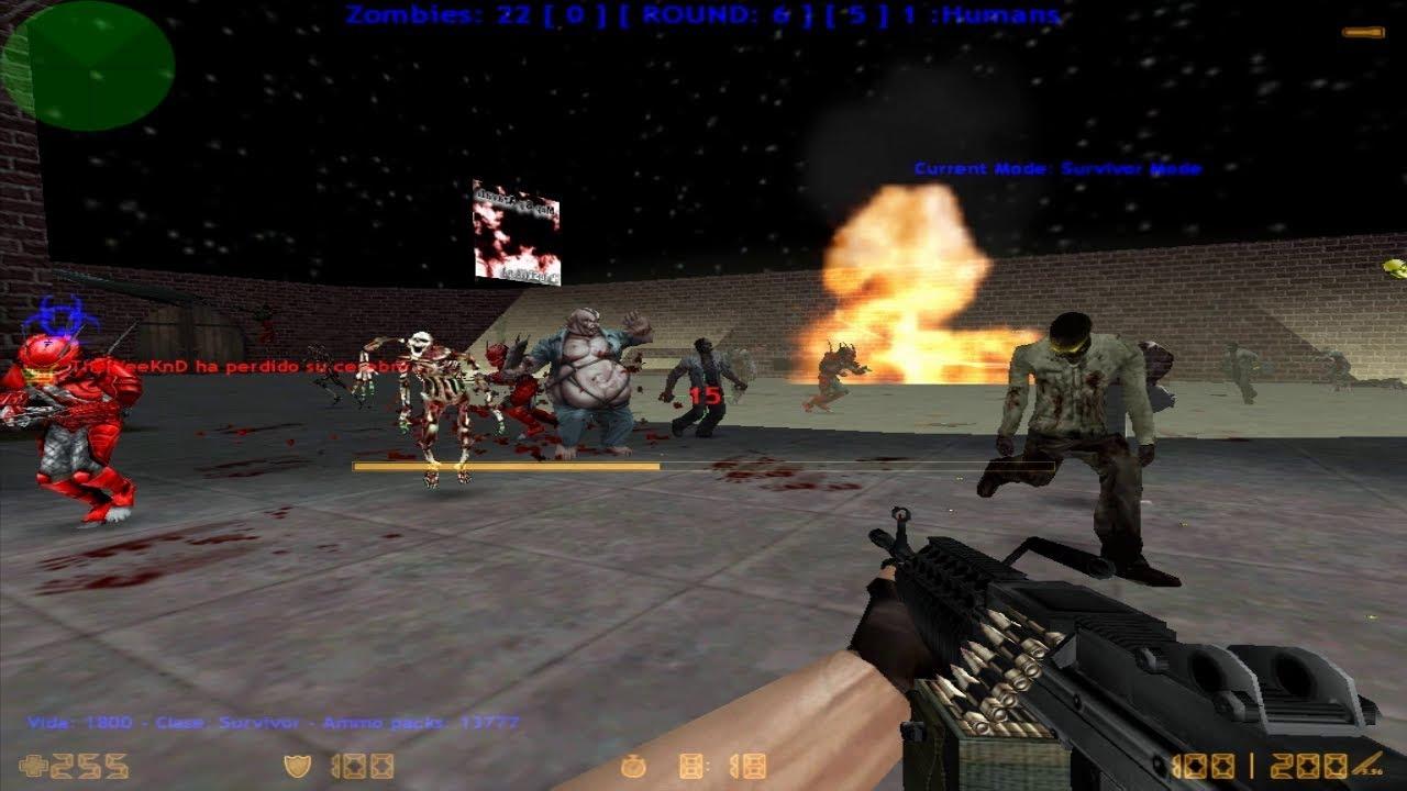 Download Loquendo Zombie Plague • Counter Strike 1.6 • [PARTE 12] • LASERMINE • UGC.LT