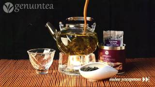 Чай Женьшень улун | With Ginseng Oolong Tea