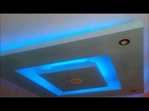 Decoration faux plafond placo ba13 led alger funnydog tv for Modele de plafond decoratif