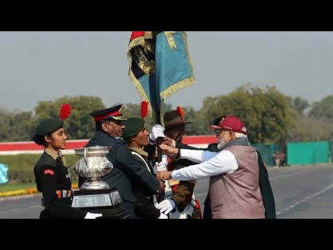 NCC PM Rally 2019 Republic Day Camp National Cadet Corps YouTube PM Narendra Modi