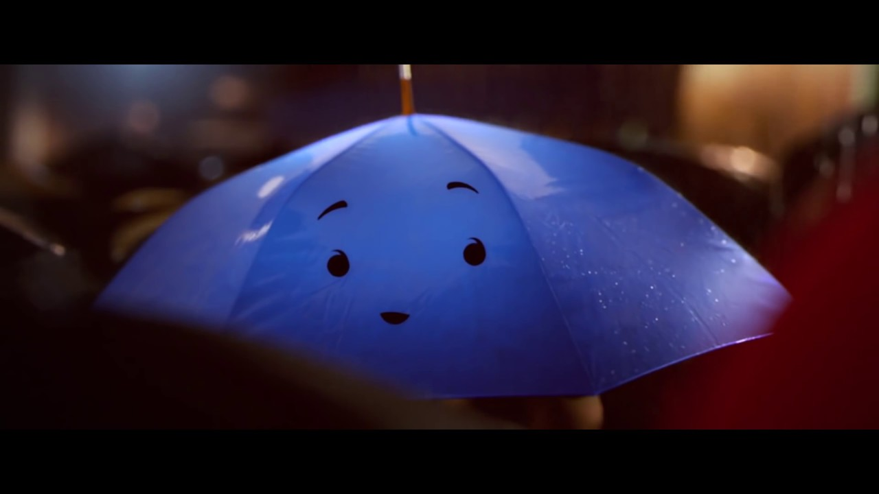 Blue Umbrella Disney Film Clip 'the Blue Umbrella'