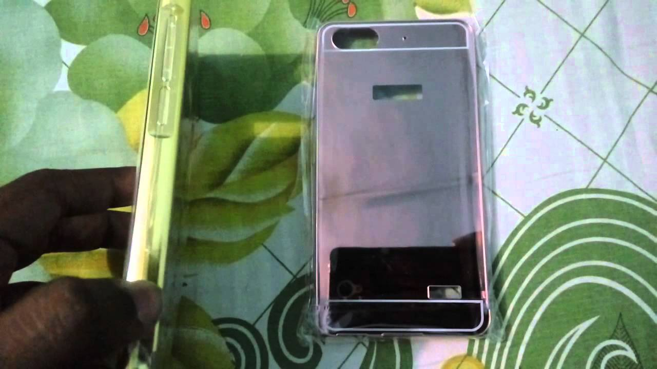 new product a663d acf51 Honor 4c metal bumper mirror case