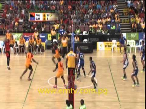 Men's Volleyball Highlights - PNG vs Guam | XV Pacific Games Day #8 #EMTVPacGames