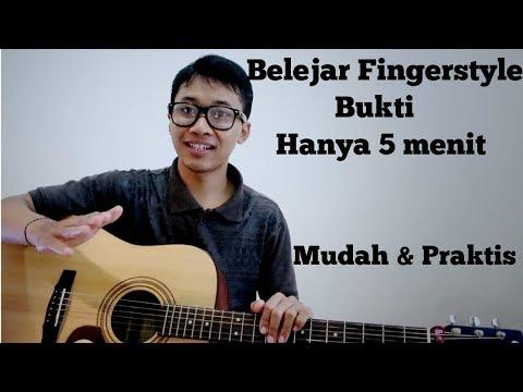 Belajar Fingerstyle Bukti (Tutorial)