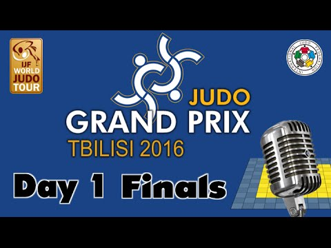 Judo Grand-Pix Tbilisi 2016: Day 1 - Final Block