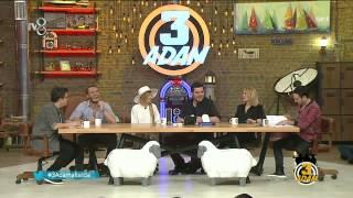 3 Adam - Alexandra Stan'dan Eser'e İltifat (2.Sezon 7.Bölüm)