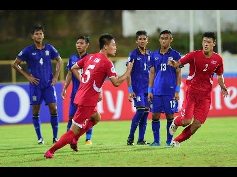 Video: U16 Thái Lan vs U16 Triều Tiên