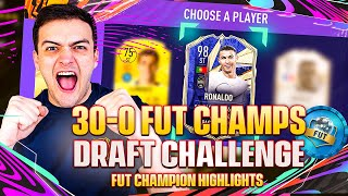 I let a FUT DRAFT pick my FUT CHAMPS TEAM! 30-0 WEEKEND LEAGUE CHALLENGE!!