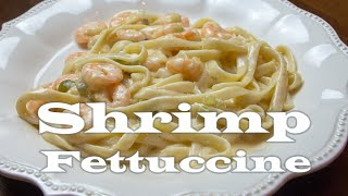Shrimp Fettuccine (Cajun Recipe)