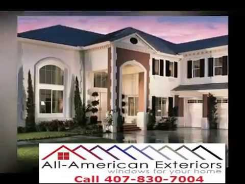 all american exteriors windows and doors orlando youtube. Black Bedroom Furniture Sets. Home Design Ideas