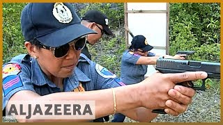 Philippines town replaces all-male police force with women