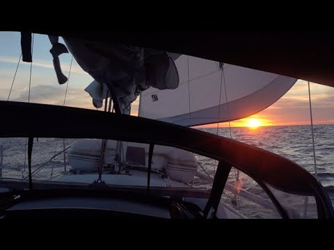Offshore on a Catalina 30 Sailboat