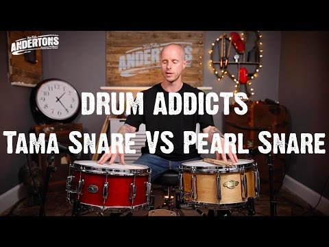 Drum Addicts - Snare Vs. Snare - Pearl Maple 1-piece & Tama Maple