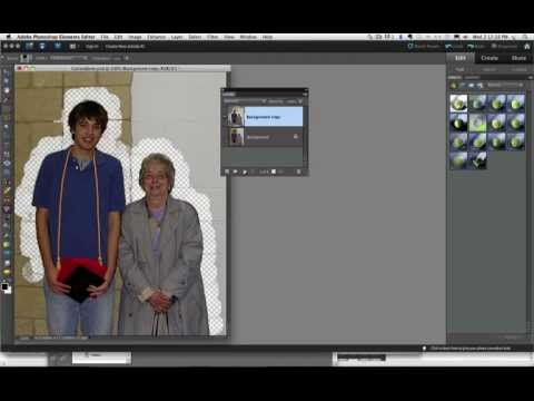 Photoshop Elements Background Eraser Tool