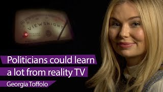 Toff: 'Politicians could learn a lot from reality tv' - BBC Newsnight