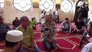 Reciting shahada 1 ramadan 2013