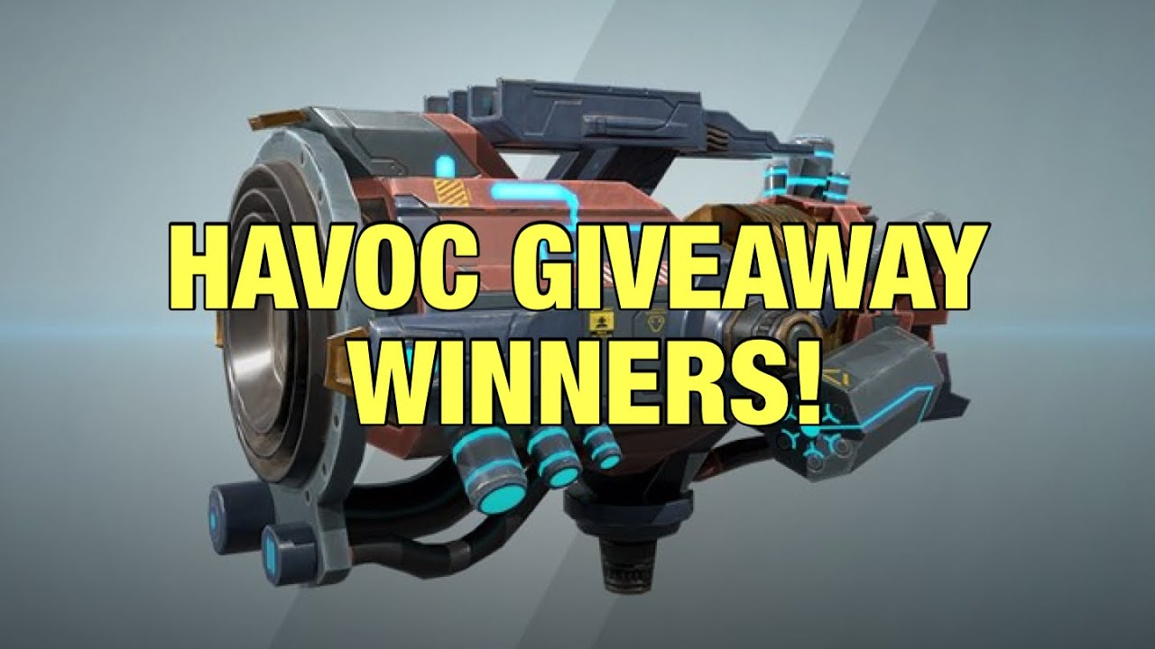 War Robots HAVOC GIVEAWAY WINNERS + Best Team Play Demo with Minos Nodens & Hades Gameplay
