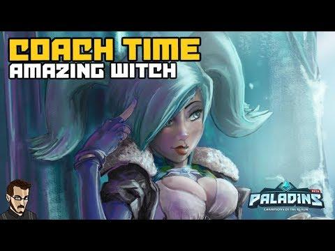 Paladins FR  -  La Reine des flanks : Coach Time Amzng Witch sur Evie (Diam / Master)