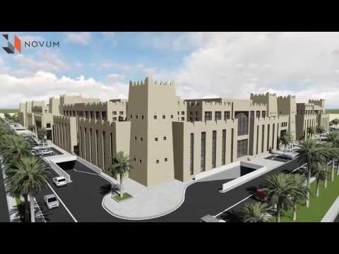 Novum Structures - Immigration Department - Qatar - 3D Max; Lumion; After Effects