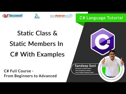 C# - Oops | Static Member