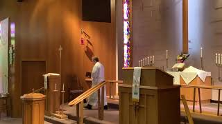 Seventh Sunday of Easter, Good Shepherd Lutheran Church, LC-MS, Two Rivers, WI, Rev. William Kilps