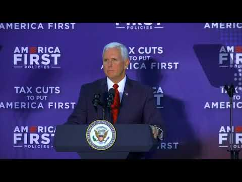 "Vice President Pence Speaks at ""Tax Cuts to Put America First"" Event, Charlotte, NC  April 20, 2018"