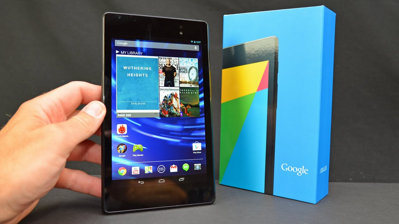 New Google Nexus 7 (2nd Generation): Unboxing & Review - YouTube
