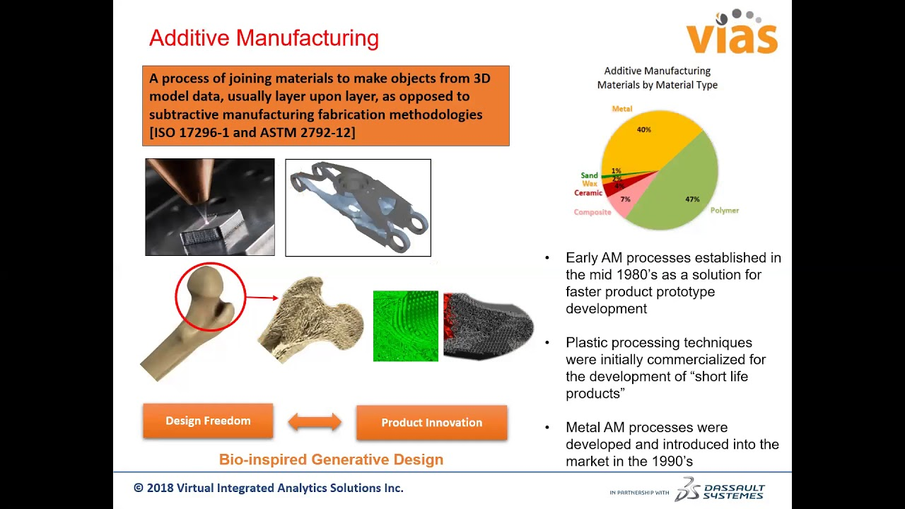VIAS Webinar: Additive Manufacturing Process Simulation and Generative Design