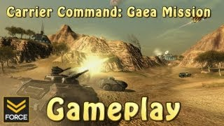 Carrier Command: Gaea Mission (Gameplay)