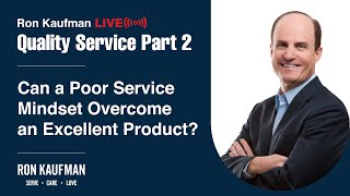 Ron Kaufman - Quality Service LIVE Part 2
