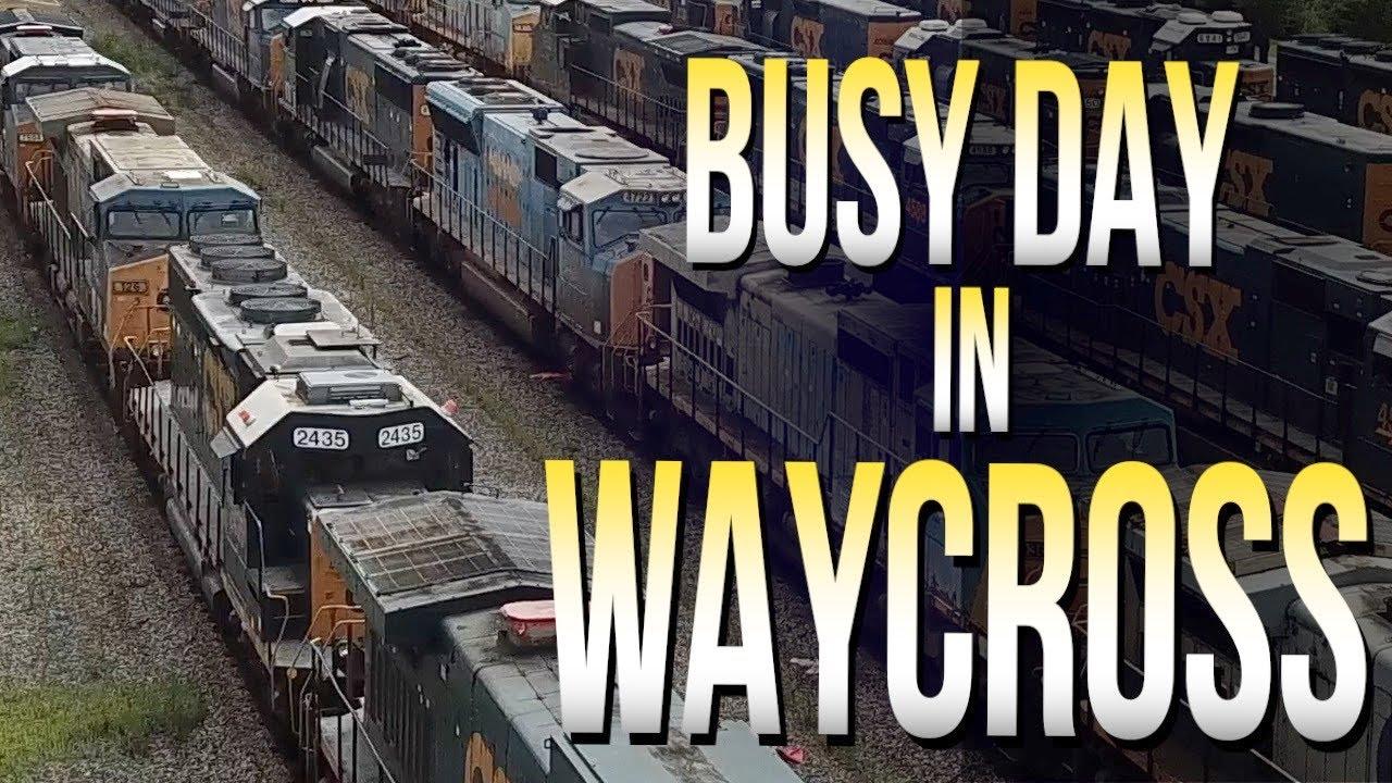 Busy Day In Waycross