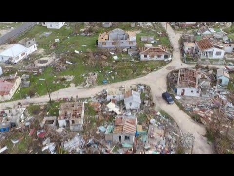 Irma batters the Caribbean