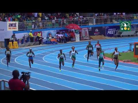 Caster Semenya wins women's 400m final at the 2018 African Athletics Championships Asaba