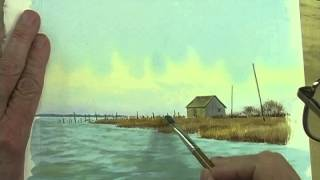 Watercolor Workshop Eps 14 The Marsh Shed
