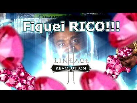 Lineage 2 Revolution: FIQUEI RICO 20 MIL Diamantes Vermelhos!!! Omega Play