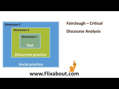 Fairclough Critical Discourse