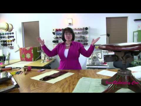 Kim's Upholstery Live Episode  26 Antique Office Chair