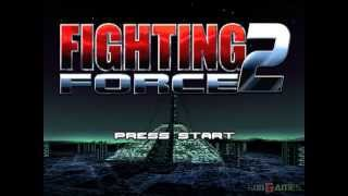 Fighting Force 2 - Gameplay PSX / PS1 / PS One / HD 720P (Epsxe)