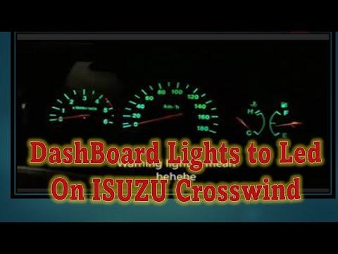 Dashboard and AC Panel Lights Replacement on ISUZU Crosswind